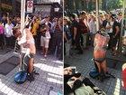 В Чили вора, ограбившего старушку, привязали к позорному столбу - ФОТО: Фоторепортажи