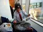Японец уже второй месяц живет в московском аэропорту - ФОТО: Фоторепортажи