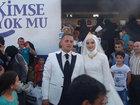 Поступок турецких молодоженов осчастливил тысячи людей - ФОТО: Фоторепортажи