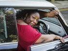 Сумоистка не может получить права, так как не помещается в машину - ФОТО: Фоторепортажи