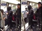 Парень не по-мужски поступил с девушкой в метро - ВИДЕО: Видеоновости