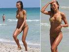 Папарацци засняли новую девушку Роналду на пляже - ФОТО: Фоторепортажи