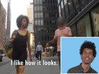 Девушки прошлись по улицам, чтобы показать истинное лицо мужчин - ФОТО - ВИДЕО: Видеоновости