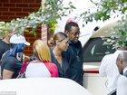 После похорон дочери Бобби Браун направился в больницу - ФОТО: Фоторепортажи