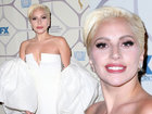 Леди Гага удивила своим лицом на вечеринке - ФОТО: Фоторепортажи