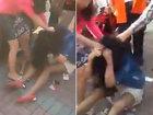 Родственники жены жестоко избили любовницу мужа - ВИДЕО: Видеоновости