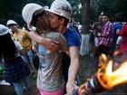 Безумное празднование окончания учебы в популярном вузе России - ФОТОСЕССИЯ: Фоторепортажи