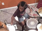 Маленький талантливый барабанщик - ВИДЕО: Видеоновости