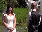 Жених и невеста чуть не задушили регистратора на свадьбе - ФОТО - ВИДЕО: Фоторепортажи