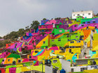 Власти попросили художников разрисовать дома. Получилось очень круто! - ФОТОСЕССИЯ: Фоторепортажи