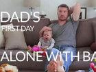 Когда папа остается наедине с ребенком - ВИДЕО: Видеоновости