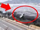 В момент ужаса он оказался в автомобиле - ВИДЕО: Видеоновости