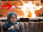 Муж живьем горит, а жена смотрит сериал - ВИДЕО : Видеоновости