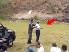Вот почему не стоит доверять оружие женщине - ВИДЕО : Видеоновости