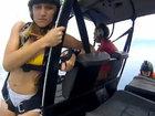 Прыжок с вертолета над пляжем - ВИДЕО : Видеоновости
