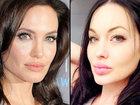 Эту красавицу путают с Анджелиной Джоли - ВИДЕО : Видеоновости