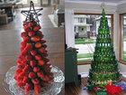 15 замечательных и необычных идей для новогодней елки - ФОТО: Фоторепортажи