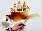 Когда пролитый кофе превращается в искусство - ФОТОСЕССИЯ: Фоторепортажи