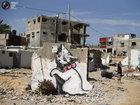 Бэнкси в секторе Газа: граффити лишь на одной стене дома - ФОТОСЕССИЯ: Фоторепортажи