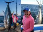 Девочка побила мировой рекорд, поймав 280-килограммовго тунца - ФОТО: Фоторепортажи