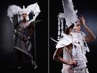 Необычные свадебные наряды из бумаги - ФОТОСЕССИЯ: Фоторепортажи