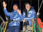 Завершилось рекордное путешествие на воздушном шаре - ФОТО: Фоторепортажи