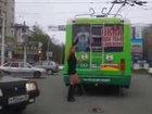 Очаровательный водитель троллейбуса - ВИДЕО: Видеоновости