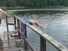 Шикарное сальто в воду - ВИДЕО: Видеоновости
