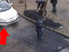 Ни в какой стране так еще не укладывали асфальт - ВИДЕО: Видеоновости