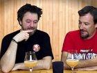 Смешно до слез: два парня решили попробовать пиво с гелием - ВИДЕО : Видеоновости