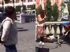 """Sloveniya küçələrində """"Ay Laçın"""" oxundu - VİDEO: Видеоновости"""