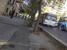 В Баку водитель автобуса совершил ДТП - ФОТО - ВИДЕО: Видеоновости