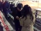 Самое необычное предложение руки и сердца в Баку - ВИДЕО: Видеоновости