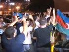 """Как в Баку отпраздновали попадание """"Карабаха"""" в Лигу Европы - ФОТО - ВИДЕО: Видеоновости"""
