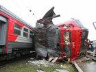 В Москве неизвестный на угнанной электричке учинил аварию - ОБНОВЛЕНО - ФОТО - ВИДЕО: Видеоновости