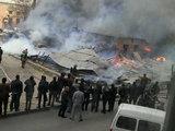 Сильный пожар в Баку: сгорели 9 автомобилей - ОБНОВЛЕНО - ФОТО - ВИДЕО: Общество
