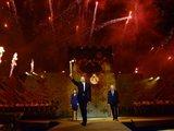 Президент Ильхам Алиев и его супруга Мехрибан Алиева приняли участие в церемонии зажжения факела первых Европейских игр - ОБНОВЛЕНО - ФОТО - ВИДЕО: Политика