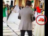 Мужчина опозорился на весь род во время свадьбы - ВИДЕО : Это интересно