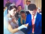Жених показал свое истинное лицо во время свадьбы - ВИДЕО: Это интересно