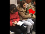 Таким способом внимание в метро не привлечешь - ВИДЕО : Это интересно
