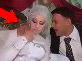 Жених достал невесту во время свадьбы - ВИДЕО: Это интересно