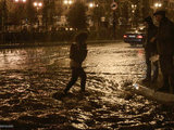 Сильный ливень превратил улицы Баку в реки - ОБНОВЛЕНО - ФОТО: Общество