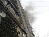 Пожар в жилом здании в Баку - ВИДЕО - ФОТО: Общество