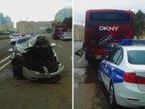 Тяжелое ДТП в Баку: поступок своего подчиненного работодатель запомнит надолго – ФОТО: Общество