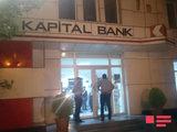 Azərbaycanda bank filialına silahlı basqın: yaralanan var - YENİLƏNİB - FOTO: Общество