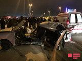 Страшная авария в Баку: трое погибших - ОБНОВЛЕНО - ФОТО: Общество