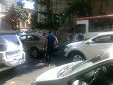 ДТП на $100 000 в самом центре Баку - ФОТО: Общество
