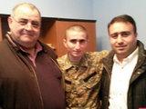 Армянский перебежчик хочет рисовать - ФОТО: Политика
