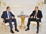 """Президент Ильхам Алиев: """"Азербайджан настроен на продолжение эффективного и успешного развития двусторонних отношений с Россией"""" - ФОТО: Политика"""