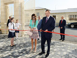 Президент Ильхам Алиев и его супруга Мехрибан Алиева приняли участие в открытии школы номер 124 в Баку - ОБНОВЛЕНО - ФОТО: Политика